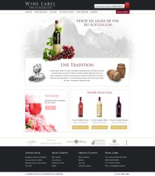 Wine Label by Illusiv-Fr