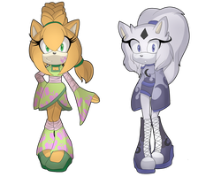Day and Night Adoptables CLOSED by AdoptSonicCharacter