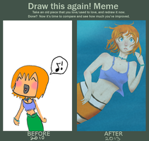 Improvement Meme: Melody by Lizzilola