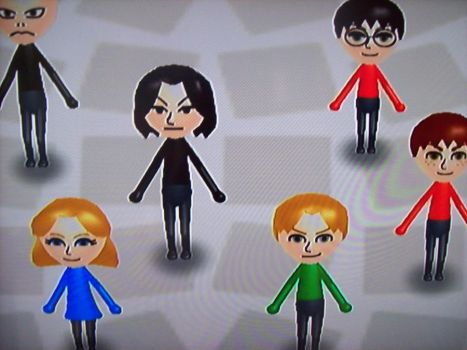 Harry Potter Mii by freedomfighter12