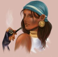 Isabela_quick_drawing by Crimstal