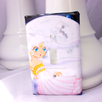 Pale Moonlight Light Switch Cover by thedustyphoenix