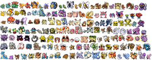 All Kanto Pokemon Revamp by NexEvo