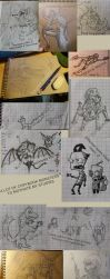Sketch Dump 08/09/2017 by Saurial