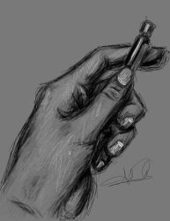 Painter Practice: Hand drawing by carefreecaptain