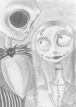 Jack and Sally by Melli-mello