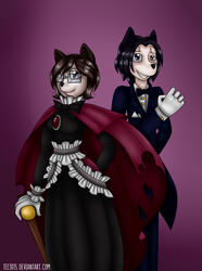 .:ART TRADE:. Sharon and Kevin by Tee3015