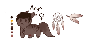 Arya Reference 2016 by Valieh