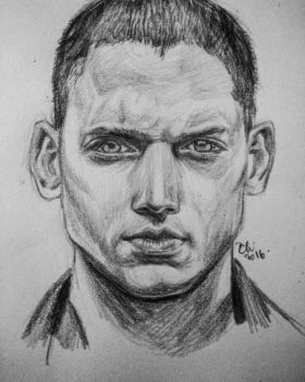 Wentworth Miller by RainingMuse