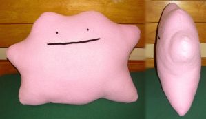 Ditto Pillow Plushie! by Myn-Anthony