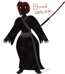 Blood Obsidian by Knight-Of-Ares