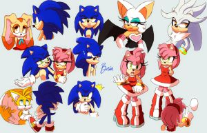 Sonic Practice 02 by Toraleii