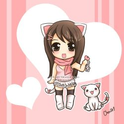 050509 Chibi Chexie Print by ChexyTime