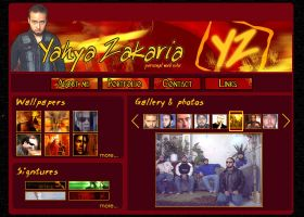 my persoanl web page by YOYOX