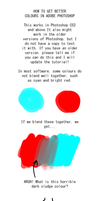 TUTORIAL: Better Colours In Photoshop by Remiaro