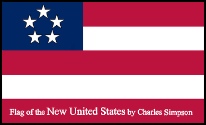 Flag of the New United States by Pokermind