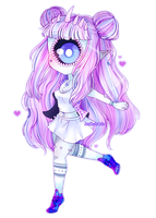 Chibi style 1 Commission for Ayama-Rose by AruOwlsArts