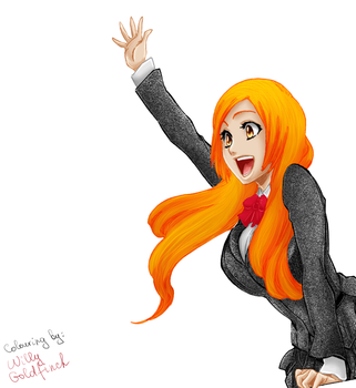 Inoue Orihime by willy-goldfinch