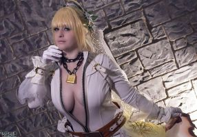 Unchained Bridal Saber - Katsucon by IchigeiCosplay