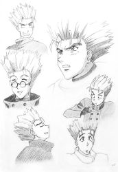Sketch: Vash the Stampede by Bastet-mrr