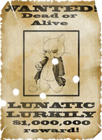 Wanted, dead or alive. by Lurkily