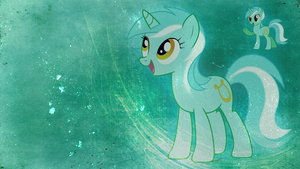 Wallpaper: Lyra by MadBlackie