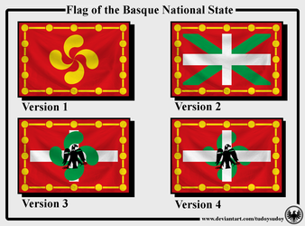 Flag of the Basque National State by TudoySudoy