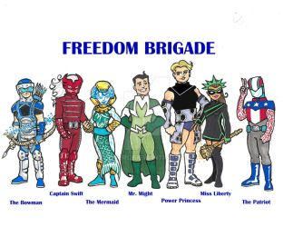 Freedom Brigade by 12for12