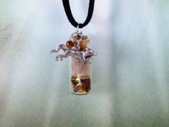 Red Fox Spirit Energy Healing Pendant by DaybreaksDawn
