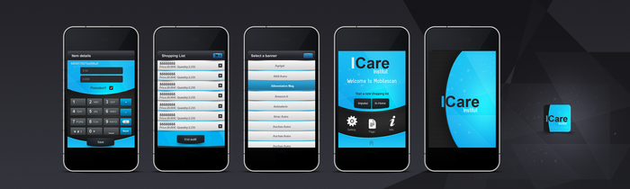 Icare App by REDFLOOD
