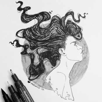 Inktober day 4 by AllieJacques