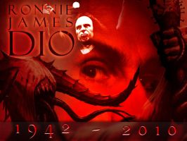 Ronnie James Dio Wallpaper by papatom