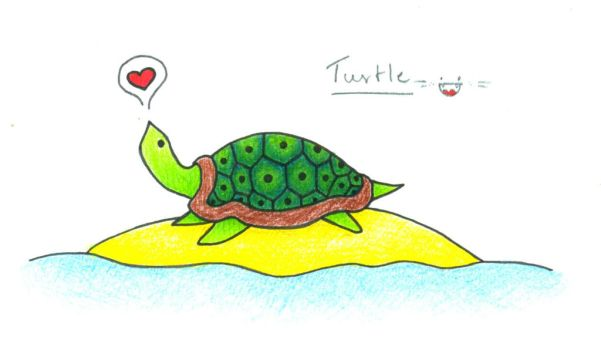 Turtle by Rebcsy