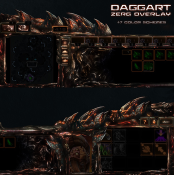 Daggart Zerg Overlay - Enhanced by Dexistor371