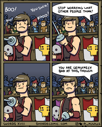 Swords XVIII by mjwills