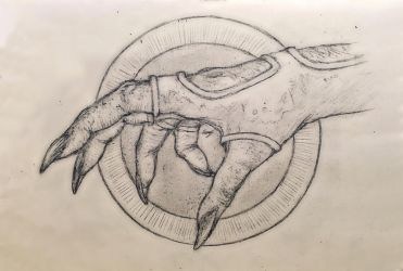 Hand....just a predators hand by GuardianOfNightmares
