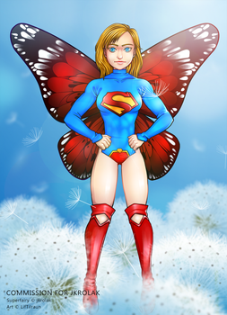 Emergency Commissions - Supergirl by LifTilraun