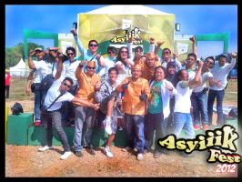 Cool Troops in action on the stage..!! by Fajar526