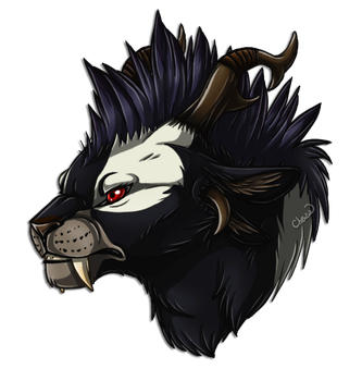 Charr headshot by chezzepticon
