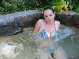 Me in a jacuzzi by morganmarie123