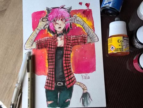 request: Akira the dollmaker by LizeKisaragi