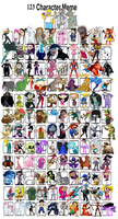 My Top 123 Favourite Characters by Austria-Man