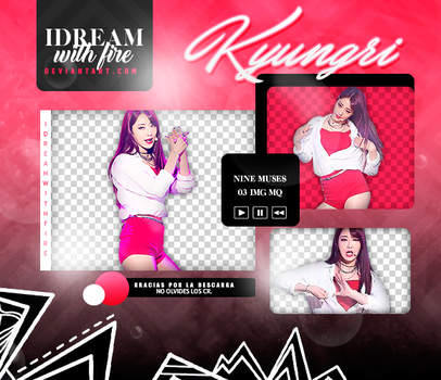 Pack Png 454 | 9MUSES | Kyungri | #2 by IDreamWithFire