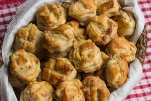 Hungarian Pork Crackling Biscuits by Kitteh-Pawz