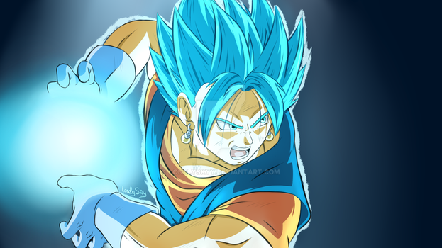 Bejitto Blue - Final Kamehameha by LonelySkyy