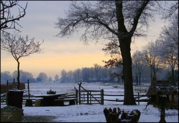 A blanket of snow by Buble