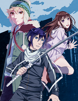 Noragami by R0cket-Cat