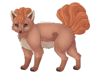 | Pokemon |Vulpix by Doqerous