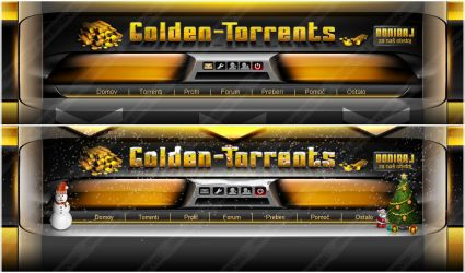 Golden-Torrents December style by Benjamin-Dandic
