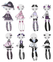 +Outfit Adoptable Mix 28 [CLOSED] (0/8)+ by Hunibi